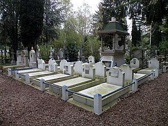 Sainte-Geneviève-des-Bois Russian Cemetery - The cemetery