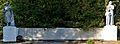Група (8) братських могил радянських воїнів, серед яких похований Жадейкин М. С. — Герой Радянського Союзу. Поховано 270 чоловік.jpg