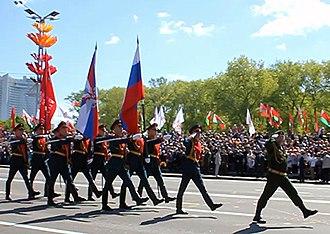 76th Guards Air Assault Division - Image: Заграничная командировка в г. Минск, республика Беларусь