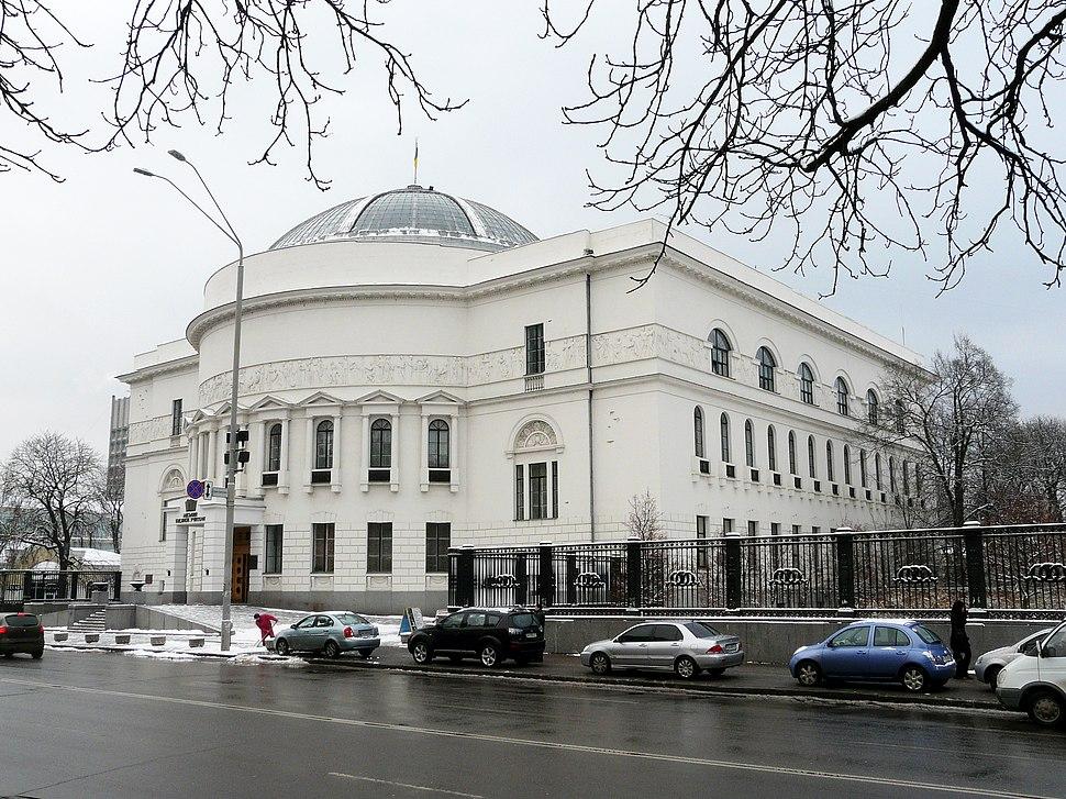 Київський міський будинок учителя-загальний вигляд