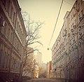 Москва (Россия) Электрический переулок - panoramio.jpg