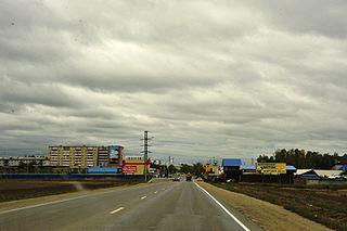Usolye-Sibirskoye Town in Irkutsk Oblast, Russia