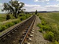 Начало выемки на железной дороге - panoramio.jpg