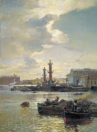 Alexander Beggrov - Image: Петербургская биржа