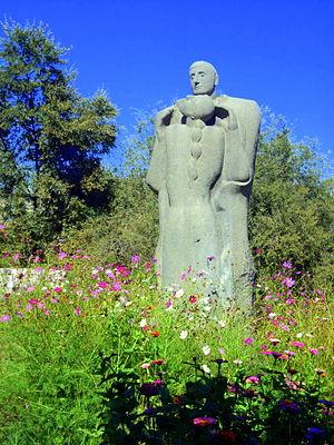 Tumanyan Park - Image: Անուշ և Սարո