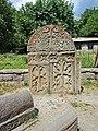 Օրբելյանների տապանատուն, որմնափակ զույգ խաչքարեր 01.jpg