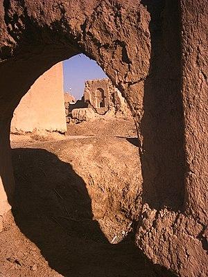 Esfarvarin - Image: نمایی از خانههای قدیمی اسفروین