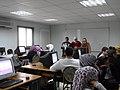 ورشة تدريبية عن الويكيبيديا في مدرسة البيان في الاردن6.JPG
