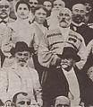 ილია ჭავჭავაძე სოხუმში შერვაშიძეთა ბაღში (დეტალი) 1903 წლის მაისი (დეტალი).JPG