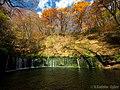 紅葉の白糸の滝 (Shiraito falls in autumn) 26 Oct, 2014 - panoramio.jpg