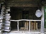 麓郷の森 黒板五郎の丸太小屋 玄関部分 Akiyoshi's RoomP6220392P6220393.jpg