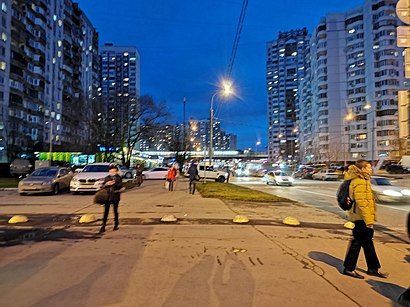 How to get to Скобелевская Улица with public transit - About the place
