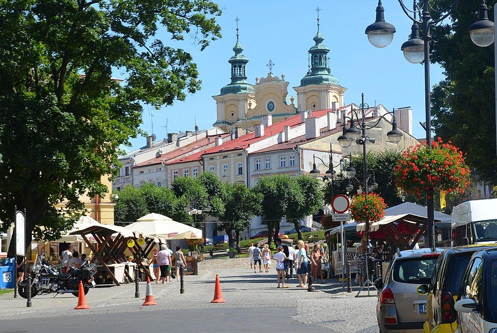 0.2014. Marktplatz in der Altstadt von Przemysl