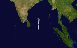 1961 North Indian Ocean cyclone season - Image: 02 B 1961 track