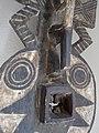 027 c1 detail BWA - (BAYIRI) PLANK MASK, Burkina Faso FRONT (168.CM) (9365553072).jpg