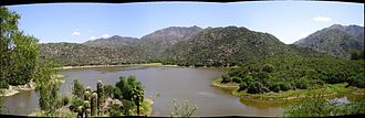 Sierras Pampeanas - The mountains of Fertile Valley in San Juan