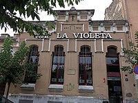 032 Societat coral La Violeta, c. Anselm Clavé 1 (Centelles).JPG