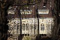 03 2019 photo Paolo Villa - F0197969 - Budapest - Castello Vajdahunyad - Bow window - alberi - Neogotico.jpg