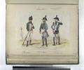1. Cazador; 2. Tambor; 3. Sargento. (1802) (NYPL b14896507-87809).tiff