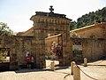 106 Abadia de Santa Maria, portal del pati d'entrada.jpg