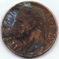 10 Centesimi di Lira - Regno d'Italia - 1938 02.png