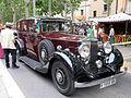 114 Fira Modernista de Terrassa, mostra de cotxes d'època a la Rambla.JPG