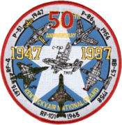 123d Airlift Wing - 50th Anniversary patch