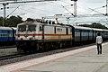 12713 (BZA-SC) Sathavahana Express at Ghatkesar.jpg