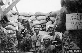 12th Battalion (Australia) - A 12th Battalion observation team at Gallipoli in August 1915