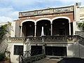 12 Cal Figarot, c. General Prim 11, seu dels Castellers de Vilafranca, façana del pati.jpg