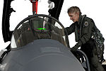 130906-F-JH807-030 Col. Jeannie Leavitt, climbs into an F-15E Strike Eagle in preparation for exercise RAZOR TALON.jpg