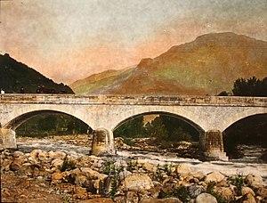 Pellice - Image: 1446 Waldensian Bridge over Paillichee