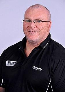 Darren Gardiner Australian Paralympic powerlifter