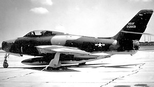 170th Fighter Squadron - Image: 170th Tactical Fighter Squadron Republic F 84F 40 RE Thunderstreak 52 6631