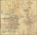 1851 map New Bedford Massachusetts by Walling BPL 10676.png
