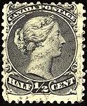 1868ca Half cent Canada used Yv17A Mi16 SG54 grey-black.jpg