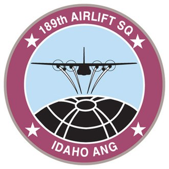 189th Airlift Squadron - Image: 189th Airlift Squadron emblem