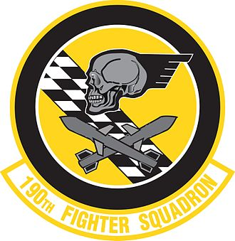 190th Fighter Squadron - Image: 190th Fighter Squadron emblem