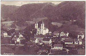 Zagorje ob Savi - Zagorje in 1927