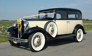 Hillman - Wizard 1932, 3-litre 6-cylinder