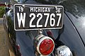 1936 Packard license plate and fuel cap (1144239054).jpg