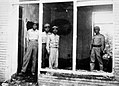 1953 Iranian coup d'état - Mosaddeq's house after fighting.jpg