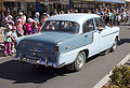 1958-1960 Holden FC Special in the SunRice Festival parade in Pine Ave (1).jpg