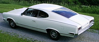 Fastback - 1967 AMC Marlin, a full-sized fastback
