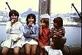 1971-3 Portugal Porto Girls on a wall (50878477146).jpg