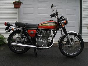 Honda CB series - Image: 1974 Honda CB450 K7