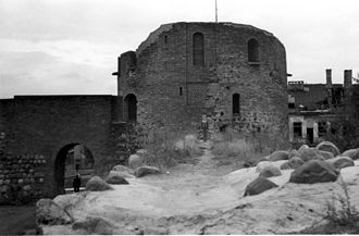 Kaunas Castle - The castle after partial restorations