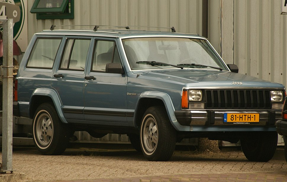 1985 Jeep Cherokee (14930366019) (cropped)