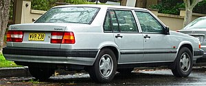 Volvo 900 Series - Volvo 940 Sedan - rear