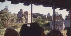 Studio Tour - The house used in Alfred Hitchcock's film Psycho (1960), as seen from the tram.
